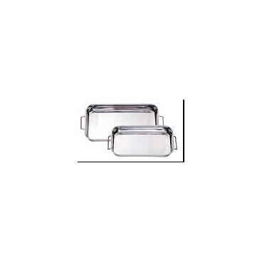 Nerūdijančio plieno stačiakampė kepimo forma 40x28cm/ 808408