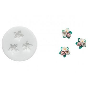 SLK 357 FLOWERS, Silikoninė forma dekorui