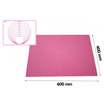 PRECISION MAT 600x400, Silikoninis kilimėlis