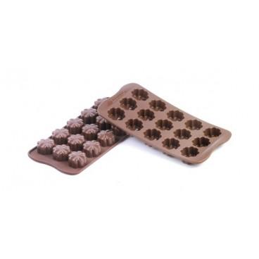 """Silikoninė forma šokoladui, ledukams """"Dobilas"""""""