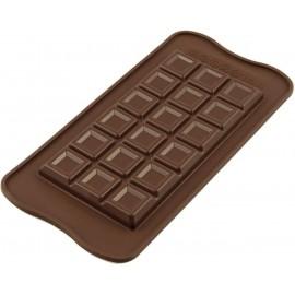 """Silikoninės formelės kepimui ir šaldymui """"Šokolado plytelė"""""""