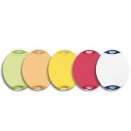 Antibakterinės dangos ovali pjaustymo lentelė 36,8 x 30,7 cm