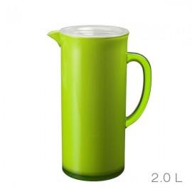 Ąsotis su dangteliu, žalias, akrilinis/ 88753