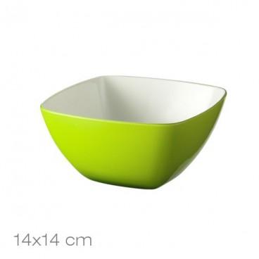 Salotinė žalia, akrilinė 14x14cm/ 88751