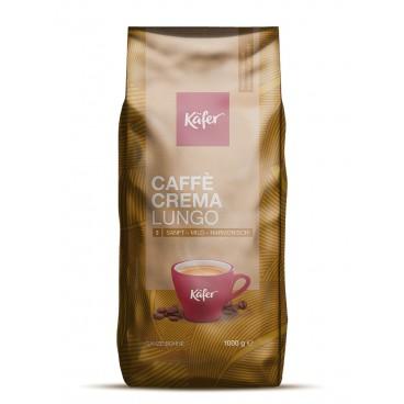 """Kava pupelėmis, KAFER """"Caffe Crema"""", 1000 g"""