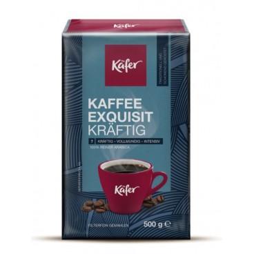 KAFFEE EXQUISIT KRÄFTIG, malta kava, 500 g/ KÄFER