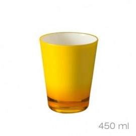 Stiklinės geltonos 450ml.,4vnt./88761