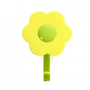 "Kabliukas su siurbtuku ""Gėlė"", 1vnt"