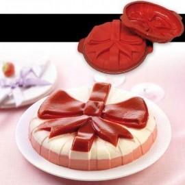 Kaspinas - silikoninė forma pyragui, 26 cm