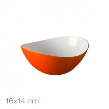 Salotinė oranžinė, akrilinė 16x14cm/ 88763